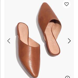 Madewell Remi Mule in size 7 tan